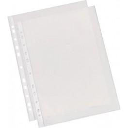 Fundas multitaladro. Folio. 0,06 Caja de 100 fundas. Transparentes