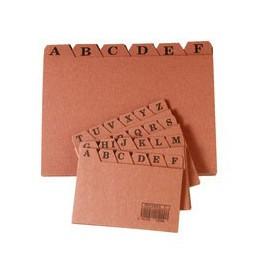 Indice ficheros carton suministros hiperbole for Ficheros para oficina