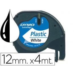 Cinta Dymo Plástico Letratag.