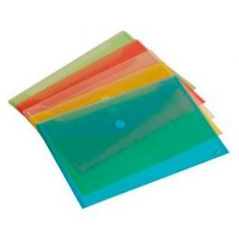 Sobre con velcro en polipropileno. A-5. Diversos colores