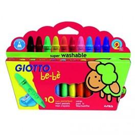 Ceras 10 colores Giotto Bebe