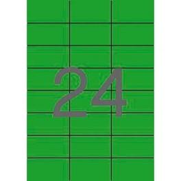 Etiquetas Apli Colores 70 x 37 mm Caja 100 hojas