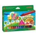 Caja 12 ceras DACSTRIX 12 Colores