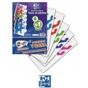 Pack 5 Cuadernos Oxford Cuadros Tapa de Plástico T folio
