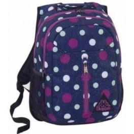 Mochila Backpack lunares pois kappa