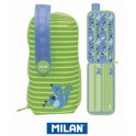 Estuche Milan Colours Blue Handly Multipencilcase 31 Piezas