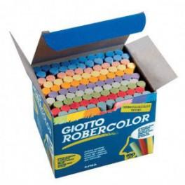 Tizas colores. Robercolor. 100 piezas