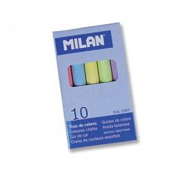 Tizas Milán colores de 10 unidades