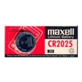 Pila Botón Maxell CR 2025   3V  Lithium