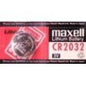Pila Botón Maxell CR 2032   3V  Lithium
