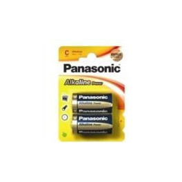 Pilas Panasonic. Alcalina LR 14