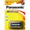 Pilas Panasonic. Alcalina 9V