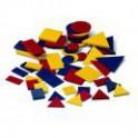 Conjunto Bloques lógicos ref. 45 en plástico
