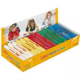 Plastilina mediana , Caja de 15 plastilina  5 colores básicos