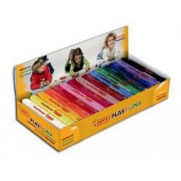 Plastilina mediana , Caja de 15 plastilina  colores surtidos