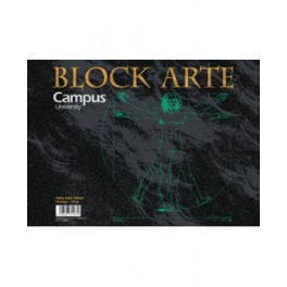 Bloc de Dibujo A-4 Campus 130gr Sin recuadro