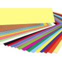 Cartulinas colores.A-2.Paquete 25unidades Iris Guarro