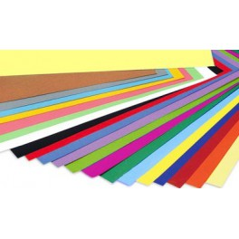 Cartulinas colores.A-2.Paquete 25unidades Colores Vivos 200 grs