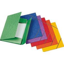 Carpetas de cartón en colores T/F con solapas