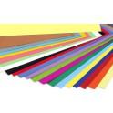 Cartulinas colores.A-2.Paquete 25ud Colores Vivos 200 grs