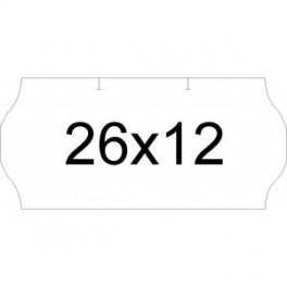 Etiquetas 26 x 12mm para etiquetadora meto
