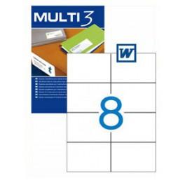 Etiquetas Multi 3   105X74MM