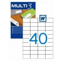 Etiquetas Multi 3  52,5X29,7MM Ref. 04719