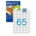 Etiquetas Multi 3  38X21,2MM Ref. 04716