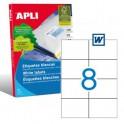 Etiquetas Apli   105X74MM Ref. 01279