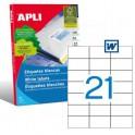 Etiquetas Apli  70X42,4MM Ref. 01276