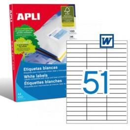 Etiquetas Apli  70X16,9MM Ref. 01294