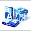 Papel Doble AA. A-4. 80gr.500 hojas Blanco Satinado. Calidad A