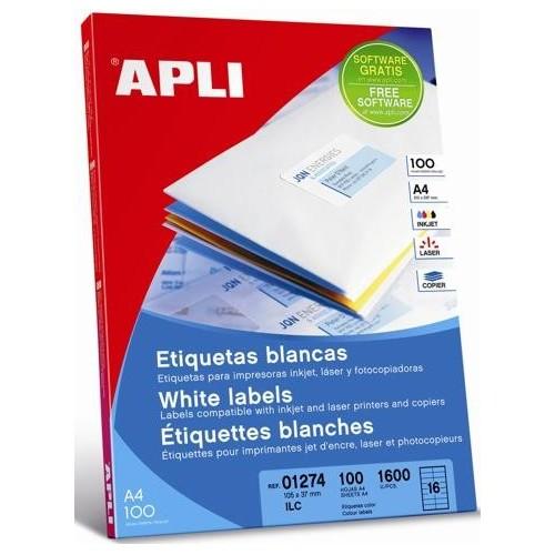 Etiquetas APLI para impresoras