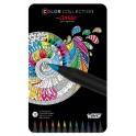 Caja metálica de 12 lápices de colores Bic Conté