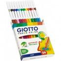 Rotuladores Giotto Turbo Color  24 unidades