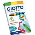 Rotuladores Giotto Turbo Maxi 6 rotuladores.