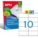 Etiquetas Apli   105X57MM Ref. 01278
