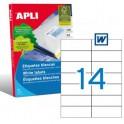 Etiquetas Apli   105X42,4MM Ref. 01277