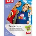 Papel Transfer Especial Tejidos Color